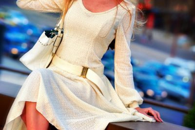 Flare-Dress-dresses-for-girls-with-a-broader-waist