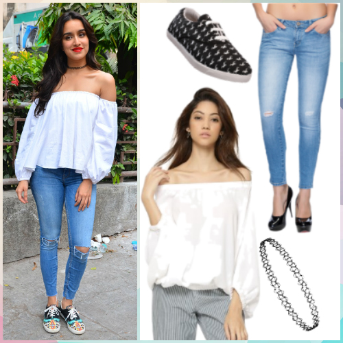 outfit inspired by Shraddha Kapoor