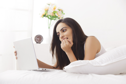 girl who watches porn