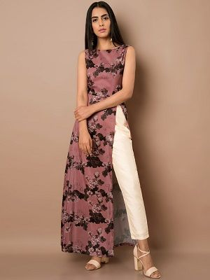 printed-a-line-indian-outfits-that-make-you-look-tall
