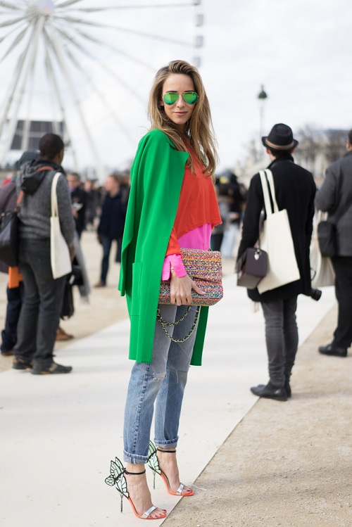 2 style jeans to look slimmer
