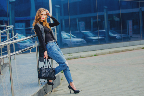 5 style jeans to look slimmer
