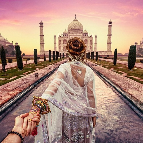 murad and nataly osmann in india 6