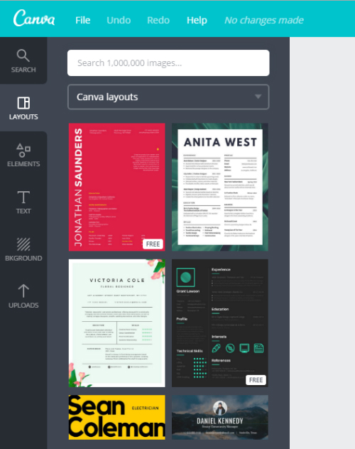 1 make awesome resumes online