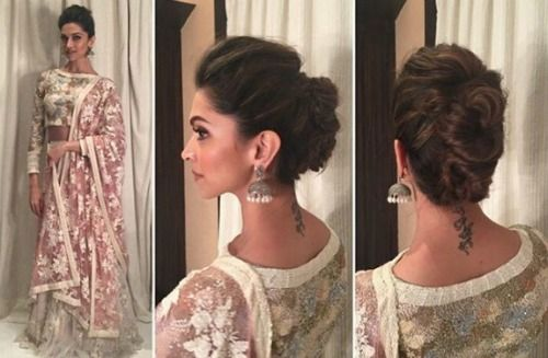 4 a deepika padukone hairstyles for every wedding function