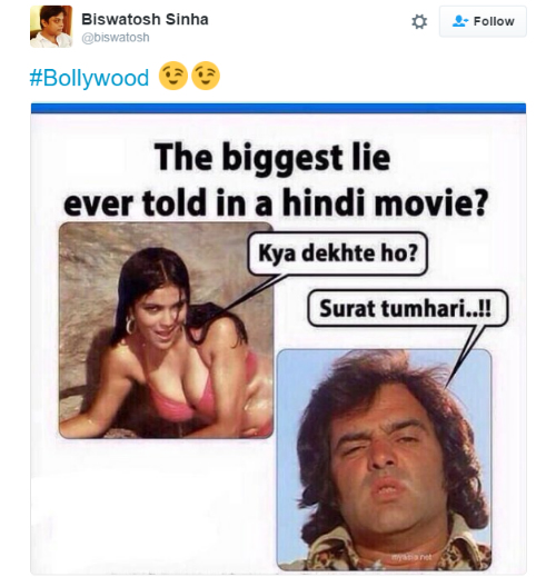 tweets about bollywood