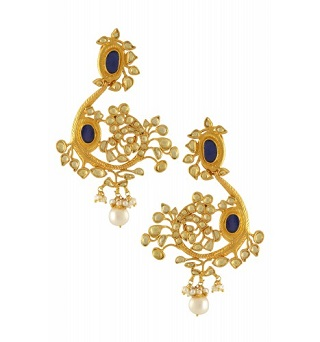 9 gold plated earrings