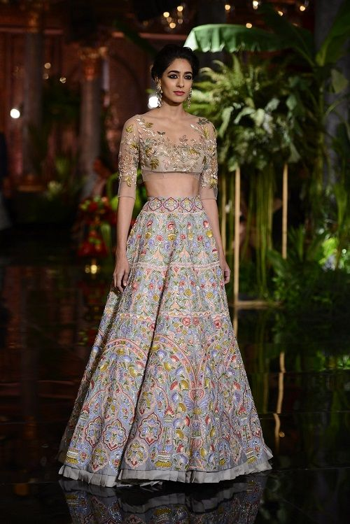 2 Lehengas From Couture Week