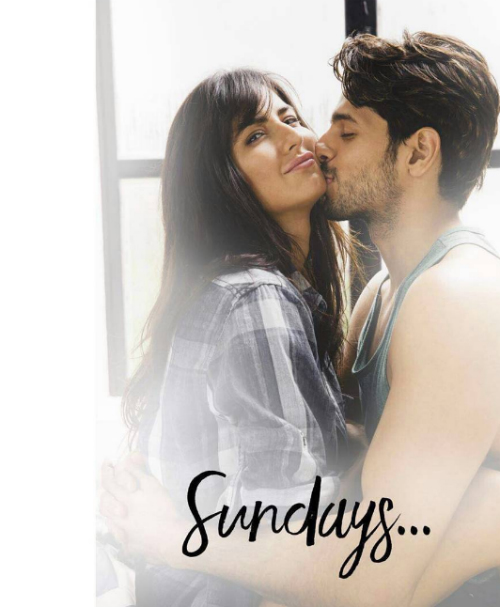 2 katrina and sidharth in baar baar dekho