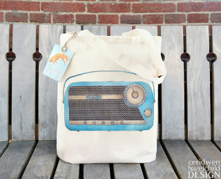 5 Canvas Tote Bags