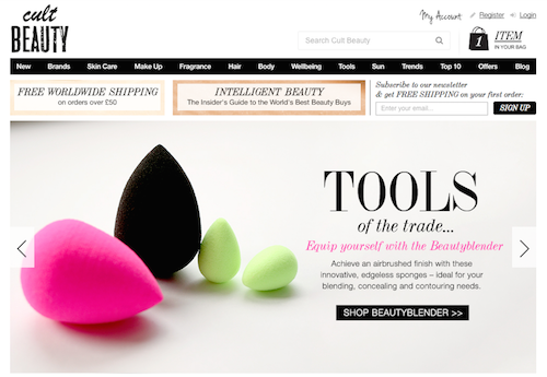 5. International websites you can order makeup from