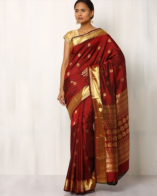 12 red sarees for the bride to be