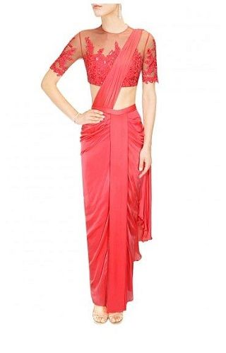 15 red sarees for the bride to be