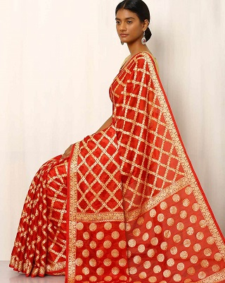 3 red sarees for the bride to be