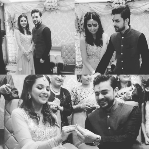 4 pictures of celeb couple