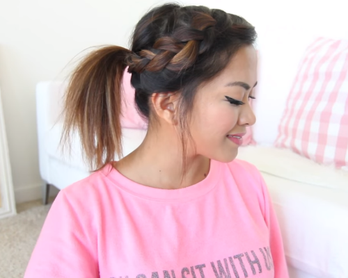 6 hairstyles for unwashed hair