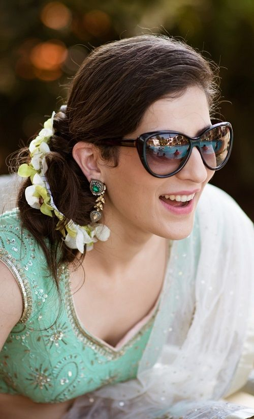 7 bridal hairstyles with flowers