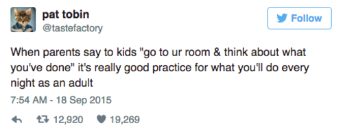 8 tweets about adulthood