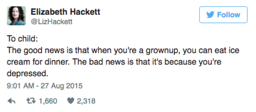 9 tweets about adulthood