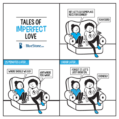2 funny comics about love