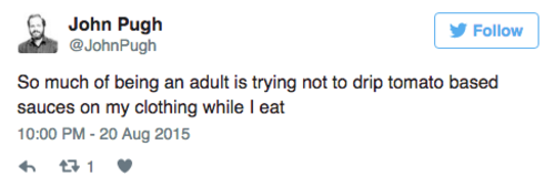 1 tweets about adulthood