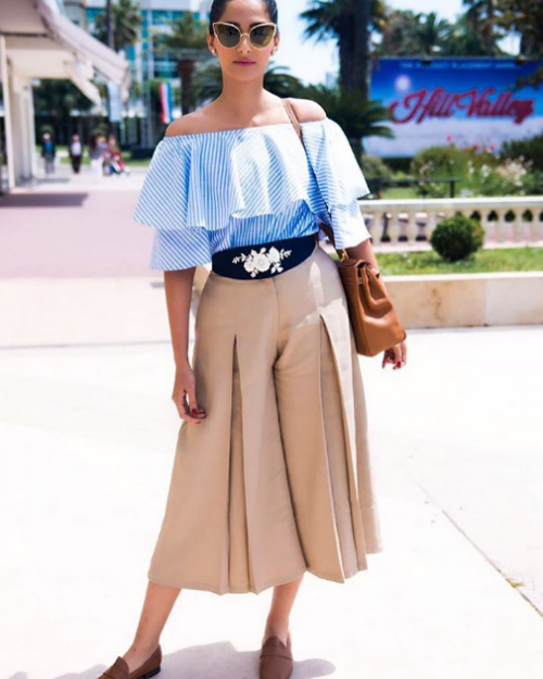 7 Celebrity off the shoulder looks
