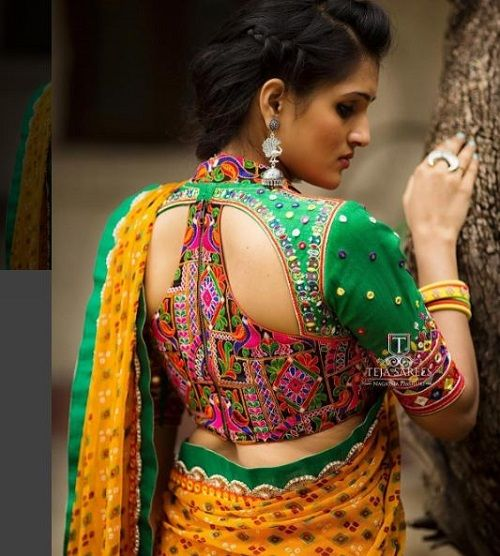 7 types of sarees in india