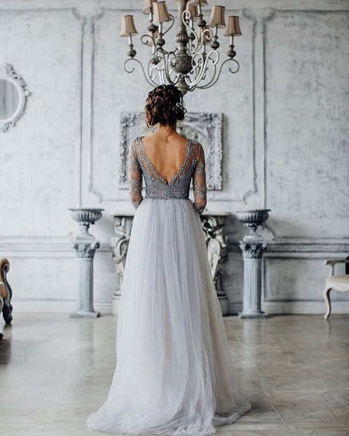 9 colourful wedding gowns