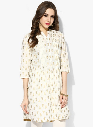 1 affordable white kurtis