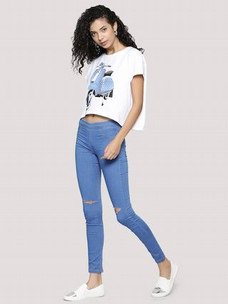 1. treggings and jeggings for women