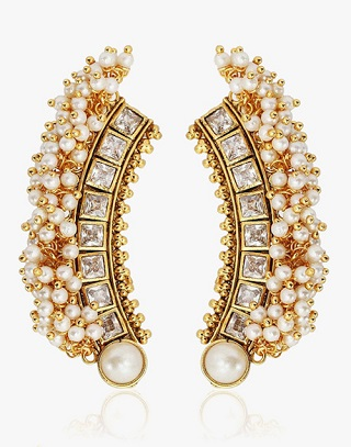 10 types of ethnic earrings
