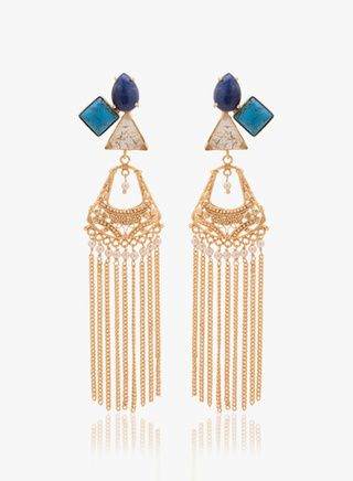 2 types of ethnic earrings