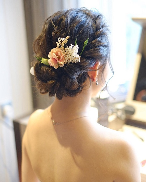 6 bridal hairstyles for curly hair