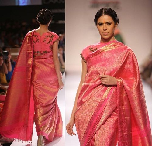 7 how to style a saree