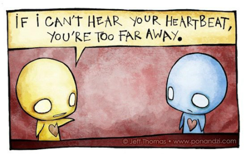 7 illustrations about love