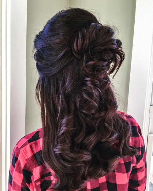 8 bridal hairstyles for curly hair