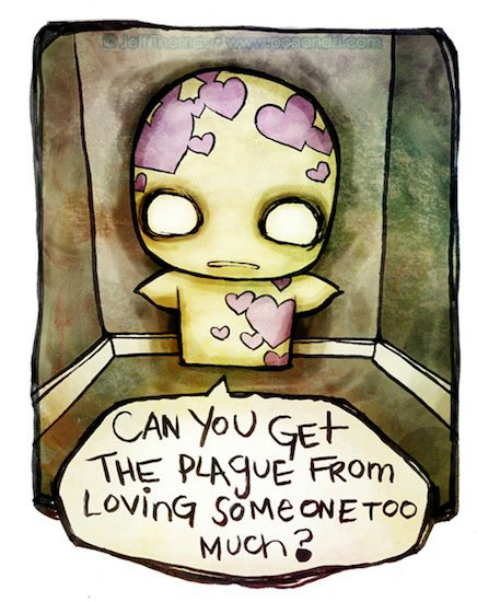8 illustrations about love