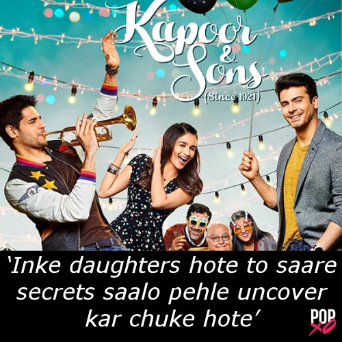 2016 bollywood movie reviews - kapoor and sons b