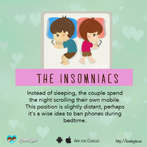 4 sleeping style with boyfriend means