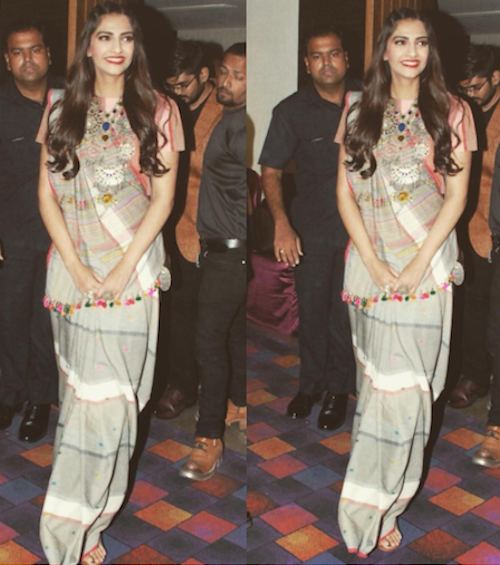 4. sonam kapoor outfits