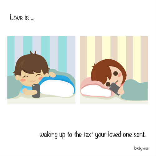 5 love illustrations
