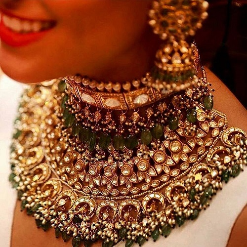 3 types of bridal jewellery
