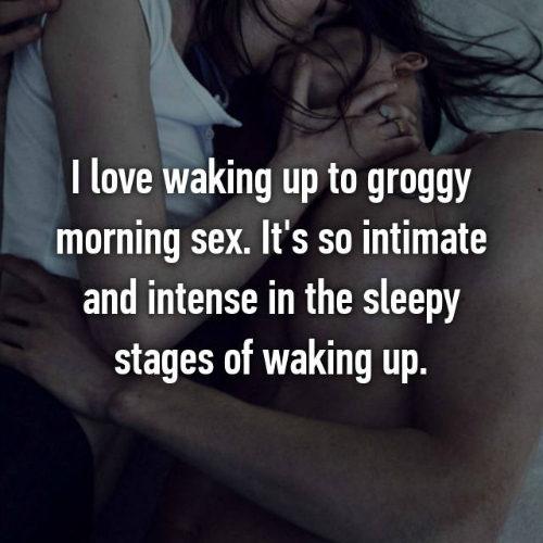6 morning sex