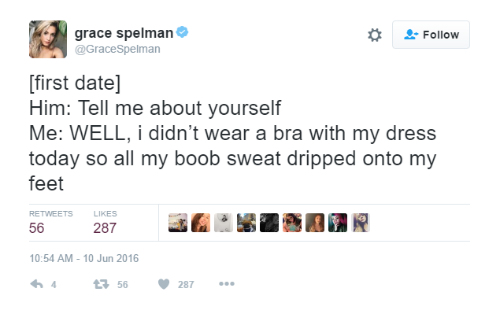 7 tweets about boobs