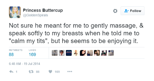 8 tweets about boobs