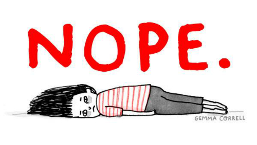 2 illustrations by gemma correll