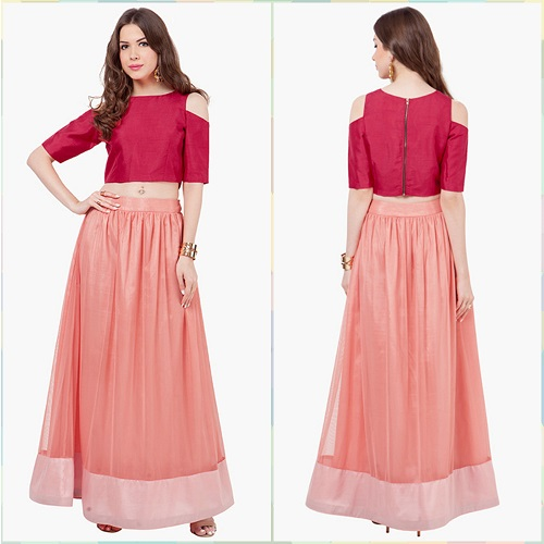 2 indo western outfit ideas