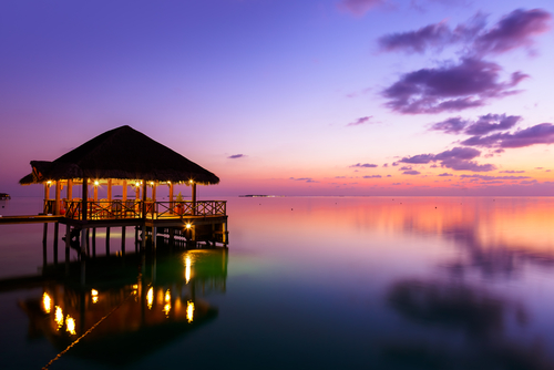 3 international honeymoon destinations - Maldives