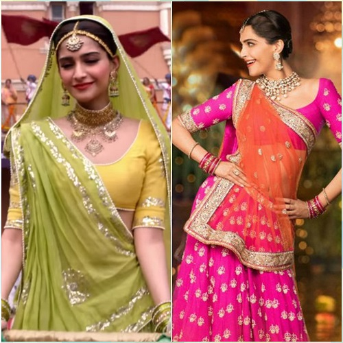 5 bollywood lehengas