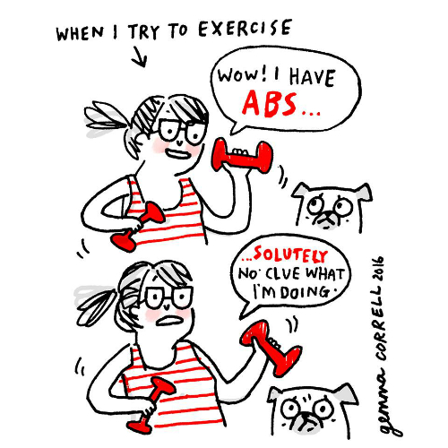 6 illustrations by gemma correll